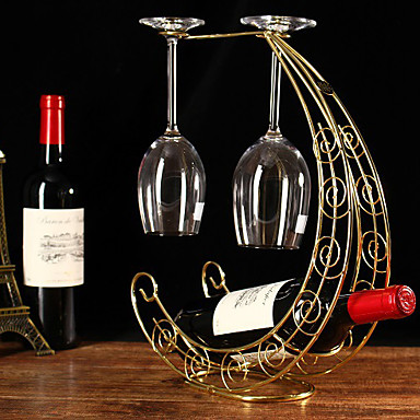 와인 선반 주철,31*10*36CM 포도주 부속품