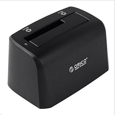 모바일 하드 디스크 상자 임의의 색상으로 ORICO 6519 시작 2.5 인치 3.5 인치 하드 드라이브베이스 일반적인 하드 디스크