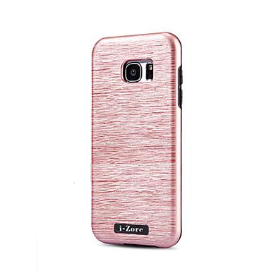 Case Kompatibilitás Samsung Galaxy S7 edge S7 Ultra-vékeny Hátlap Tömör szín Kemény PC mert S7 edge S7 S6 edge