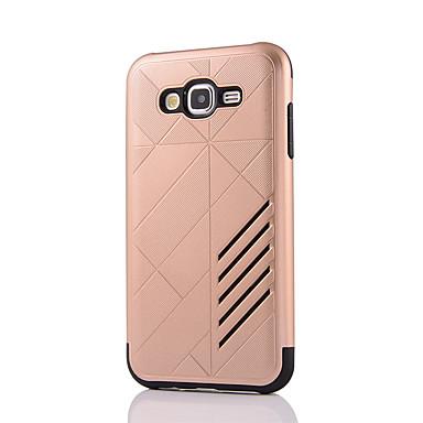 Case Kompatibilitás Samsung Galaxy J7 Prime J5 Prime Ütésálló Fekete tok Tömör szín Kemény PC mert J7 Prime J7 (2016) J7 J5 Prime J5