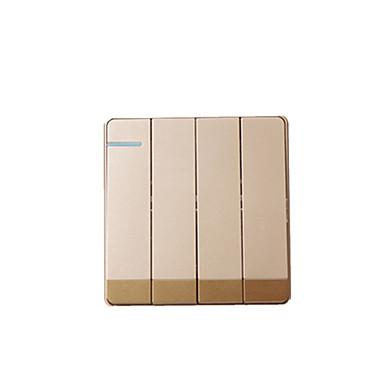 10 (a)는 우 쿠앙 벽 스위치 형 (86) 샴페인 진 daban 홈 (4) 네 쌍의 스위치 소켓 패널의 정격 전류 정격 전압 (220 V)