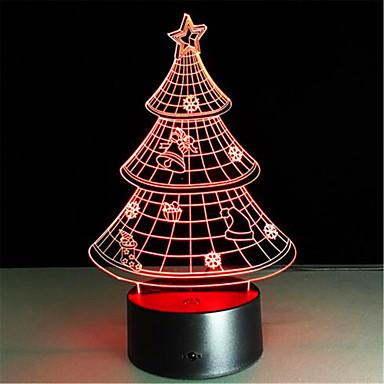 1개 3D 야간 조명 원격 제어 리모콘 밝기조절가능 색상-변화 플라스틱 PC