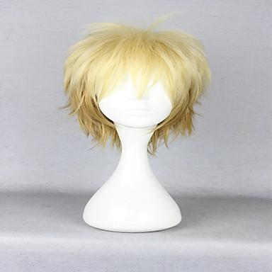 Peruki syntetyczne Kędzierzawy Gęstość Bez czepka Damskie Blond Karnawałowa Wig Halloween Wig cosplay peruka Włosy syntetyczne