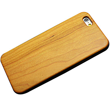 Cherry Wood Hard Back Cover for iPhone 6 Plus
