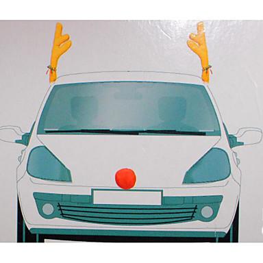 1szt. Modne wzornictwo samochodowe dekoracje świąteczne poroże samochodowe