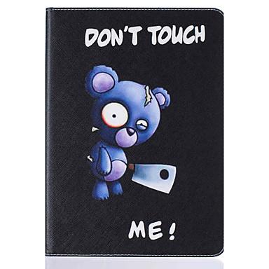 용 카드 홀더 / 스탠드 / 플립 / 패턴 케이스 풀 바디 케이스 동물 하드 인조 가죽 Apple iPad 4/3/2