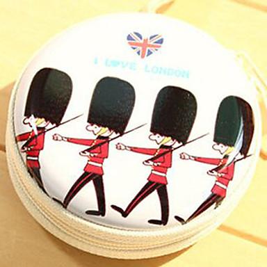 podróże metalu kreskówek brytyjskich żołnierzy zmienić hełmofonami schowek (losowy kolor)
