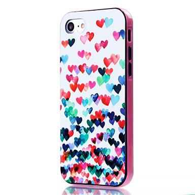 Kılıf Na iPhone 7 Plus iPhone 7 Apple iPhone 7 Plus iPhone 7 Odporne na wstrząsy Wzór Czarne etui Serce Miękkie TPU na iPhone 7 Plus
