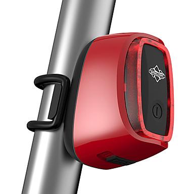 Kerékpár világítás Bár vége fények Kerékpár hátsó lámpa LED - Kerékpározás Érzékelő Távirányító Újratölthető Vízálló Lítium akkumulátor