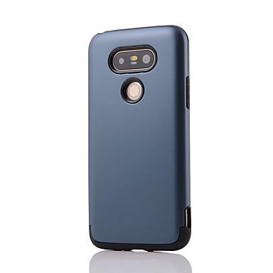 Case Kompatibilitás LG G3 LG LG K5 LG K10 LG G5 LG G4 Ütésálló Fekete tok Tömör szín Kemény PC mert