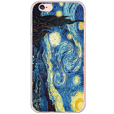 Etui Til Apple iPhone 6 Plus / iPhone 6 / iPhone 5 etui Mønster Bagcover Himmel / Landskab Hårdt TPU for iPhone 6s Plus / iPhone 6s / iPhone 6 Plus