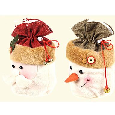 1 개 산타 클로스 크리스마스 선물 가방 크리스마스 선물 크리스마스 선물 (랜덤 색상)