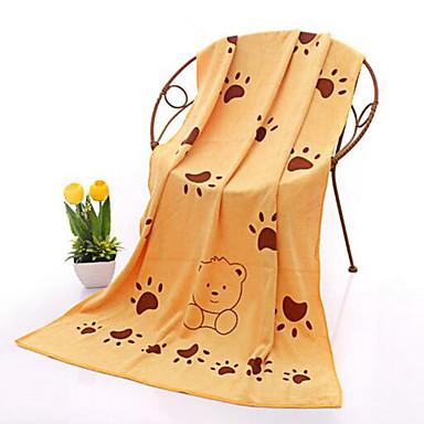 Taze Stil Banyo Havlusu, Duyarlı Baskı Üstün kalite %100 Mikro Fiber Havlu Havlu