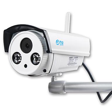 preiswerte IP-Kameras-JOOAN 1,0 MP im Freien with IR-Schnitt 128(Tag Nacht Bewegungserkennung Dual - Stream Fernzugriff Wasserfest Wi-Fi geschütztes Setup