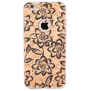 Για Ανάγλυφη / Με σχέδια tok Πίσω Κάλυμμα tok Λουλούδι Μαλακή TPU για Apple iPhone 6s Plus/6 Plus / iPhone 6s/6 / iPhone SE/5s/5