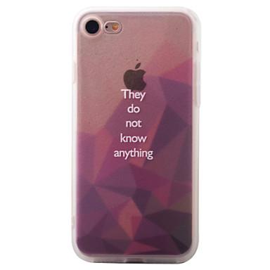 Na Wzór Kılıf Etui na tył Kılıf Geometryczny wzór Twarde Akrylowy na Apple iPhone 7 Plus / iPhone 7 / iPhone 6s Plus/6 Plus / iPhone 6s/6