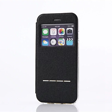 coque pour apple iphone x iphone 8 avec support coque int grale couleur unie dur faux cuir pour. Black Bedroom Furniture Sets. Home Design Ideas