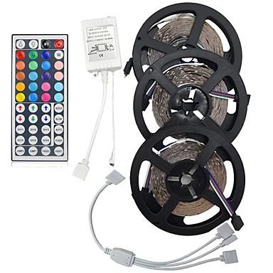 Σετ Φώτων 450 LEDs RGB Τηλεχειριστήριο Μπορεί να κοπεί Με ροοστάτη Αλλάζει Χρώμα Αυτοκόλλητο Κατάλληλο για Οχήματα Συνδέσιμο DC 12V