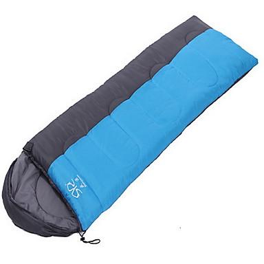 حقيبة النوم حقيبة مستطيلة فردي 20 ر / ج القطنX80 تخييم السفر مكتشف الرطوبة مكتشف الغبار التنفس إمكانية مطاط