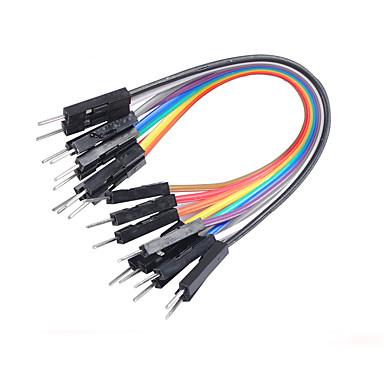 το καβούρι βασίλειο χρώμα της γραμμής DuPont 10 cm x 10 σ αγωγού 1 σειρά 10 μήκους 10 εκατοστών