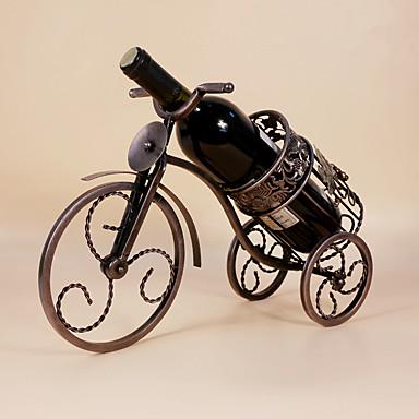 Półki na wino Żeliwo,33*24*31CM Wino Akcesoria