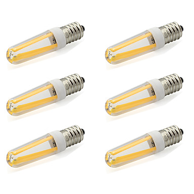 480 lm E14 LED Bi-pin Işıklar T 4 led COB Sıcak Beyaz Serin Beyaz AC 220-240V AC 85-265V