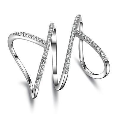 Gyűrűk Esküvő / Parti / Hétköznapi / Sport Ékszerek Női Midi gyűrűk / Karikagyűrűk / Gyűrű / Ujjperc gyűrű / Eljegyzési gyűrű 1db,Egy