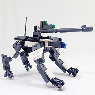 Figurki i zabawki pluszowe / Klocki na prezent Klocki Model / klocki Robot ABS 5-7 lat / 8-13 lat / 14 lat i powyżej Ivory / Szary Zabawki