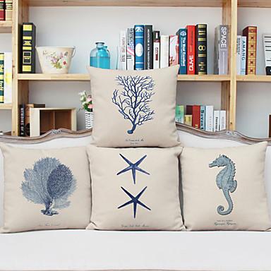 4 szt Bielizna Poszewka na poduszkę,Wzory graficzne Akcent / Decorative