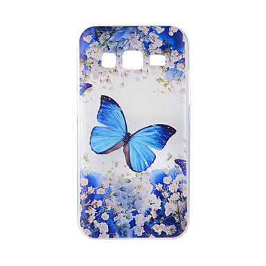 غطاء من أجل Samsung Galaxy J7 (2016) J5 (2016) نموذج غطاء خلفي فراشة ناعم TPU إلى On7(2016) On5(2016) J7 (2016) J7 J5 (2016) J5 J3 (2016)