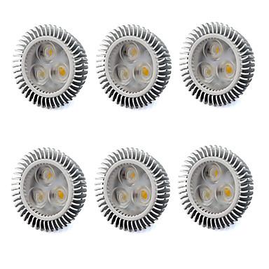 480 lm GU5.3(MR16) LED 스팟 조명 MR16 3 LED가 고성능 LED 따뜻한 화이트 차가운 화이트 AC 220-240V