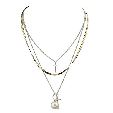 Damskie Łańcuszki na szyję Stop Modny biżuteria kostiumowa Biżuteria Na Impreza Codzienny Casual