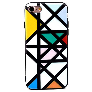 Varten Kuvio Etui Takakuori Etui Laattakuvio Pehmeä TPU varten Apple iPhone 7 Plus / iPhone 7 / iPhone 6s Plus/6 Plus / iPhone 6s/6