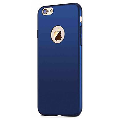 Için Buzlu Pouzdro Arka Kılıf Pouzdro Solid Renkli Sert PC için Apple iPhone 7 Plus / iPhone 7 / iPhone 6s Plus/6 Plus / iPhone 6s/6