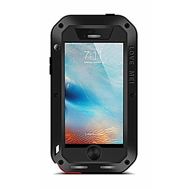Case Kompatibilitás iPhone 5 Apple Víz / Dirt / ütésálló Héjtok Tömör szín Kemény Fém mert iPhone SE/5s iPhone 5