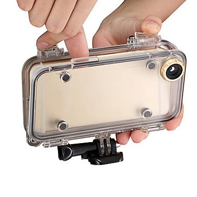 Sukelluskotelo Case Vedenkestävä Pölynkestävä, Varten-Toimintakamera,iPhone iOS Universaali Silikoni