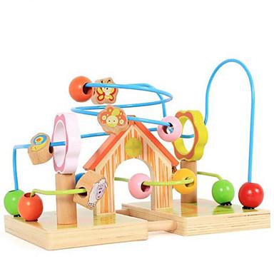 Zabawki Dla chłopców Discovery Toys Zabawka edukacyjna Zabawki dla starszych Zamek Dom Drewno Tęczowy