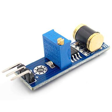 için d1208036 diy analog çıkış titreşim algılama sensörü modülü (arduino için)