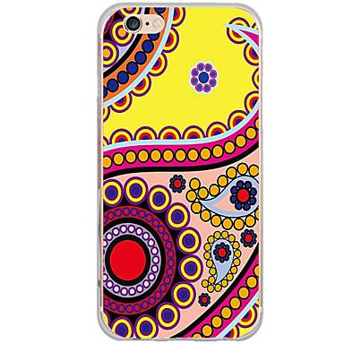 Için Temalı Pouzdro Arka Kılıf Pouzdro Geometrik Desenli Sert PC için AppleiPhone 7 Plus / iPhone 7 / iPhone 6s Plus/6 Plus / iPhone 6s/6