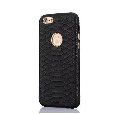 Για iPhone X iPhone 8 iPhone 6 iPhone 6 Plus Θήκες Καλύμματα Με σχέδια Πίσω Κάλυμμα tok Συμπαγές Χρώμα Σκληρή Γνήσιο Δέρμα για Apple