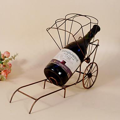 Σχάρες Κρασιών Χυτοσίδηρο,35*11*13CM Κρασί Αξεσουάρ