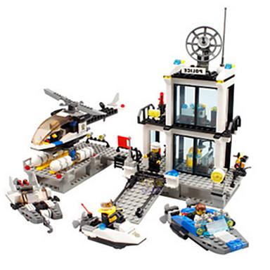 Legolar Oyuncaklar Polis Yenilikçi Erkekler Genç Erkek 1 Parçalar