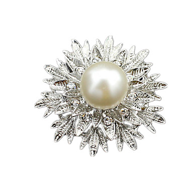 Damskie Broszki Modny Europejski Perłowy Biżuteria Na Ślub Impreza Codzienny Casual
