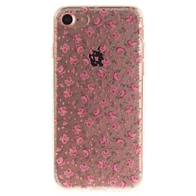 Για Θήκη iPhone 7 Θήκη iPhone 6 Θήκες Καλύμματα IMD Πίσω Κάλυμμα tok Λουλούδι Μαλακή TPU για Apple iPhone 7 iPhone 6s iPhone 6