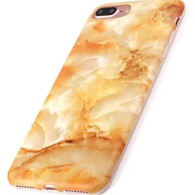 Pouzdro Uyumluluk Apple iPhone 6 iPhone 7 Plus iPhone 7 IMD Arka Kapak Mermer Yumuşak TPU için iPhone 7 Plus iPhone 7 iPhone 6s Plus
