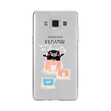 غطاء من أجل Samsung Galaxy A5(2016) A3(2016) نموذج غطاء خلفي كارتون ناعم TPU إلى A9(2016) A7(2016) A5(2016) A3(2016) A9 A8 A7 A5 A3