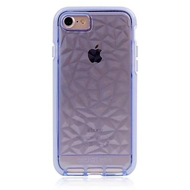 tok Για Apple Θήκη iPhone 5 iPhone 6 iPhone 7 Ημιδιαφανές Πίσω Κάλυμμα Συμπαγές Χρώμα Μαλακή TPU για iPhone SE/5s