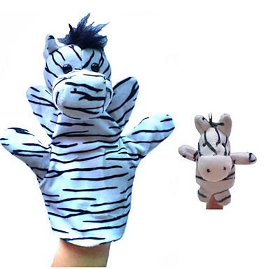 Μαριονέτα δαχτύλου Παιχνίδια Άλογο Ζεβρέ Ζώα Νεωτερισμός Αγορίστικα Κοριτσίστικα Κομμάτια