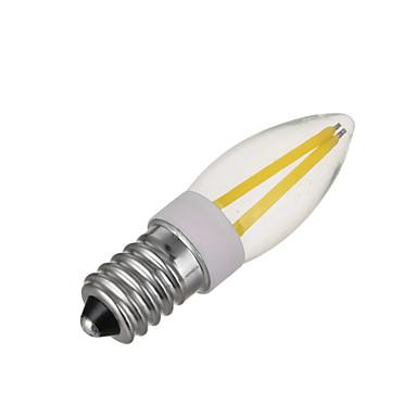 2650-2850/5500-6000 lm E14 Żarówki LED kukurydza 4 Diody lED COB Przysłonięcia Ciepła biel Zimna biel