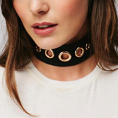 Γυναικεία Κολιέ Τσόκερ Κολιέ Δήλωση Κοσμήματα Geometric Shape Βελούδο Κοσμήματα με στυλ Εξατομικευόμενο Μοντέρνα Κοσμήματα Για Πάρτι